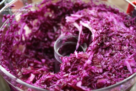 Shred Your Cabbage... Easy
