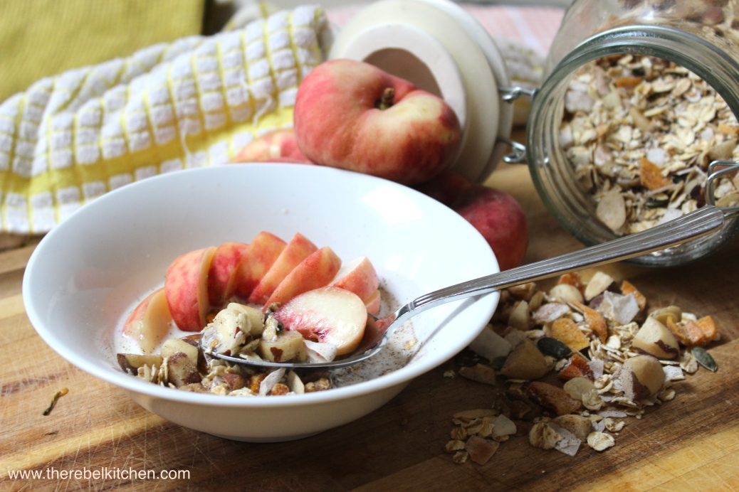 A Healthy And Delicious Morning Breakfast!