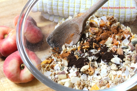 Stir In The Vanilla & Cinnamon Into Your Muesli